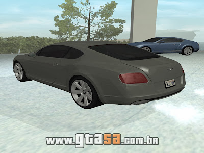 Bentley Continental GT 2011 para GTA San Andreas